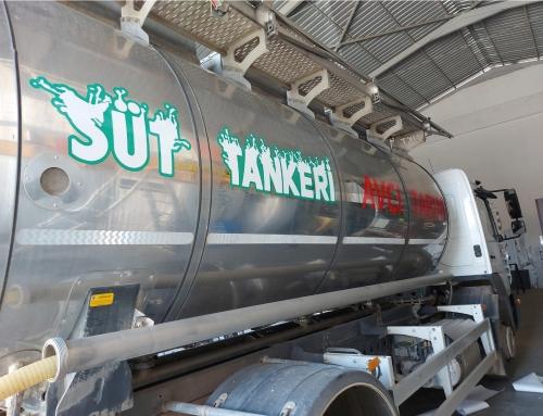 Avcı Süt Tankeri Folyo Kaplama